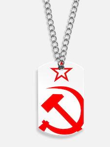 Soviet 2 Dog Tags