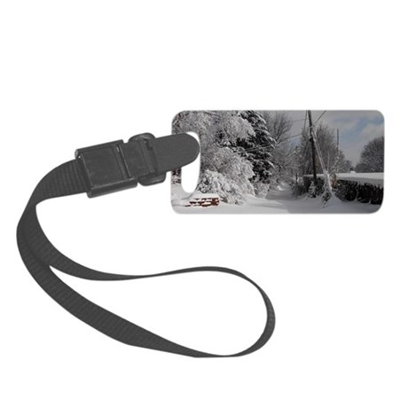Clasp Wallet Small Luggage Tag