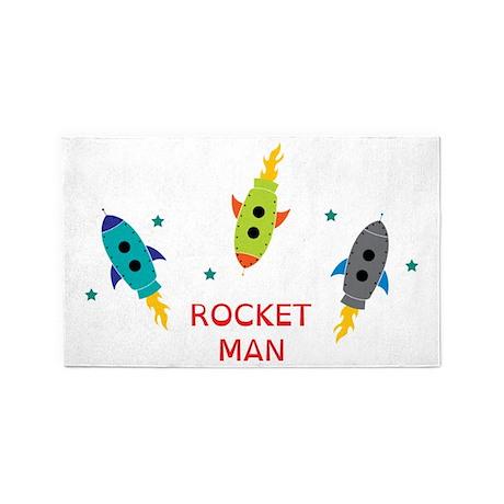 Rocket Man 3'x5' Area Rug