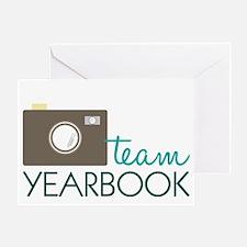 Team Yearbook Greeting Card