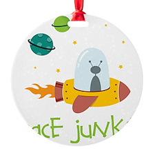 Space Junkie Ornament