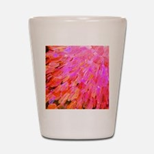 Sea Scales in Pink Shot Glass
