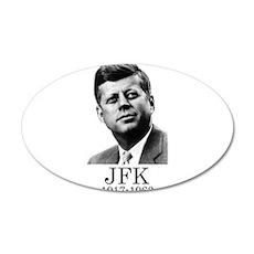 JFK 1917-1963 Wall Decal