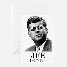 JFK 1917-1963 Greeting Cards
