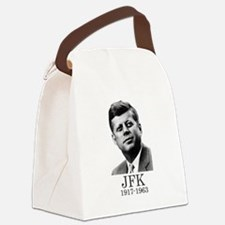 JFK 1917-1963 Canvas Lunch Bag