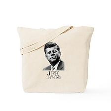 JFK 1917-1963 Tote Bag