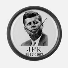 JFK 1917-1963 Large Wall Clock