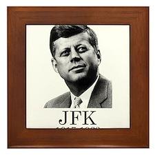 JFK 1917-1963 Framed Tile