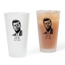 JFK 1917-1963 Drinking Glass