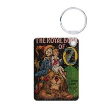 The Royal Book of Oz Aluminum Photo Keychain