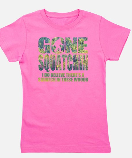 Gone Squatchin *Special Deep Forest Edi Girl's Tee