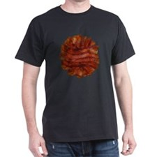 Yummy Delicious Cooked Bacon Pile T-Shirt