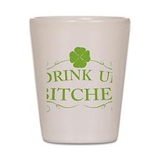 Saint Patricks Day Drinking Shot Glass