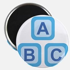 ABC Blocks Magnet