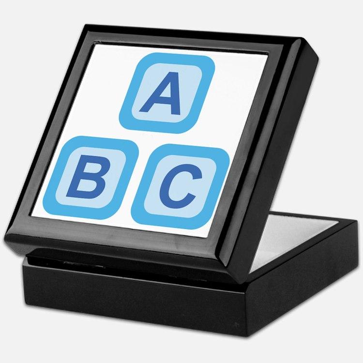 ABC Blocks Keepsake Box