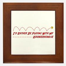 Kooiker Play Framed Tile