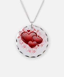 Floral Hearts Necklace