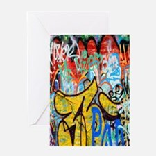 Colorful Graffiti Kindle Sleeve Greeting Card