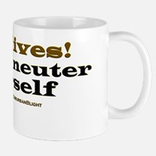 Spay Neuter Yourself lightapparel Mug