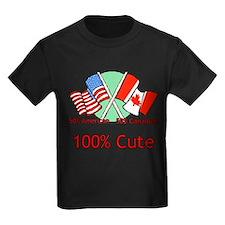 Canadian American 100% Cute T