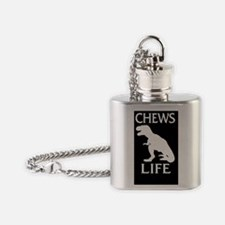 Chews Life Flask Necklace