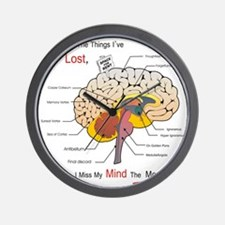 I miss my mind Wall Clock