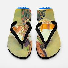 beer Flip Flops