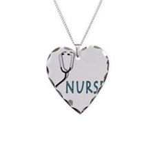 Nurse with stethescope Necklace