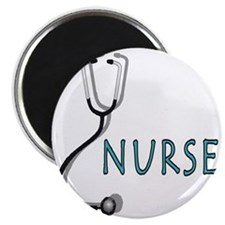 Nurse with stethescope Magnet