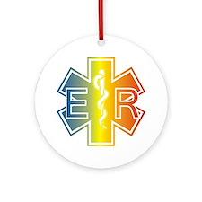 ER multicolor Round Ornament