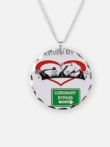 I survived my coronary bypas Necklace