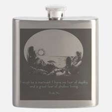 Mermaid Quote Flask
