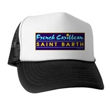 St. Barts French Caribbean Trucker Hat