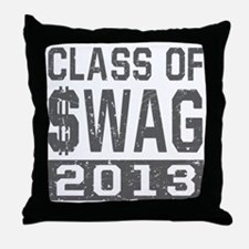 Class Of $WAG 2013 Throw Pillow