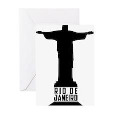 Christ Rio de Janeiro Greeting Card
