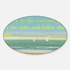 The beach Decal