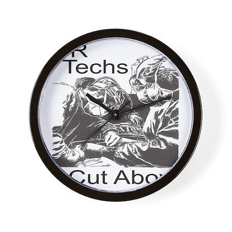 OR techs Wall Clock