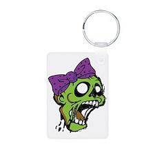 Zombie Bow Keychains
