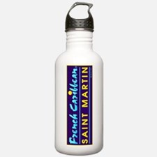 St. Martin French Cari Water Bottle