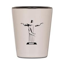 Christ the Redeemer MMXIV Shot Glass
