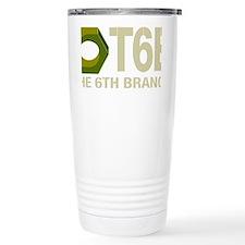 T6B Hex Nut Vector_colo Travel Coffee Mug