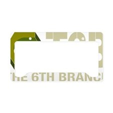 T6B Hex Nut Vector_color_hori License Plate Holder
