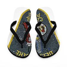 Delaware Capitol Police patch Flip Flops
