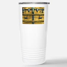 Steampunk Steamer Trunk Travel Mug