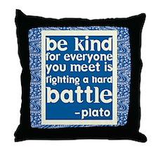 Be Kind - Inspirational Throw Pillow