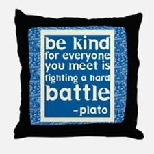 Be Kind - Inspirational Throw Pillow