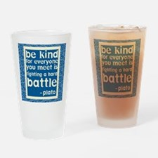 Be Kind - Inspirational Drinking Glass