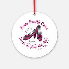 Home health care Round Ornament