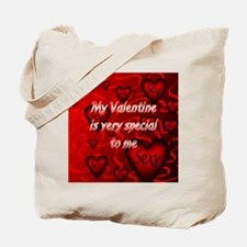 My babe is hot shirt back Tote Bag