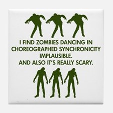 Big Bang Zombies Tile Coaster